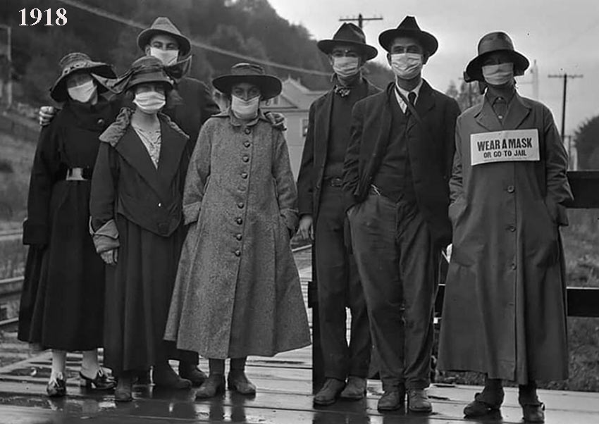 1918-Masques de protection obligatoires