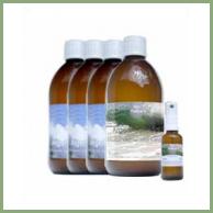 Cure Choc d' Argent Colloïdal 3 flacons en 23ppm + 1 flacon en 30ppm
