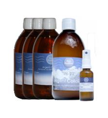 Paquete Tratamiento radical Plata coloidal (envío gratis)